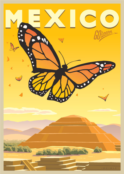 Mexico - New Years 2022 Go Learn poster