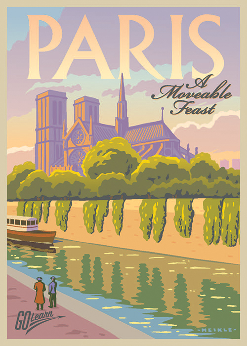 Paris - A Moveable Feast Go Learn poster