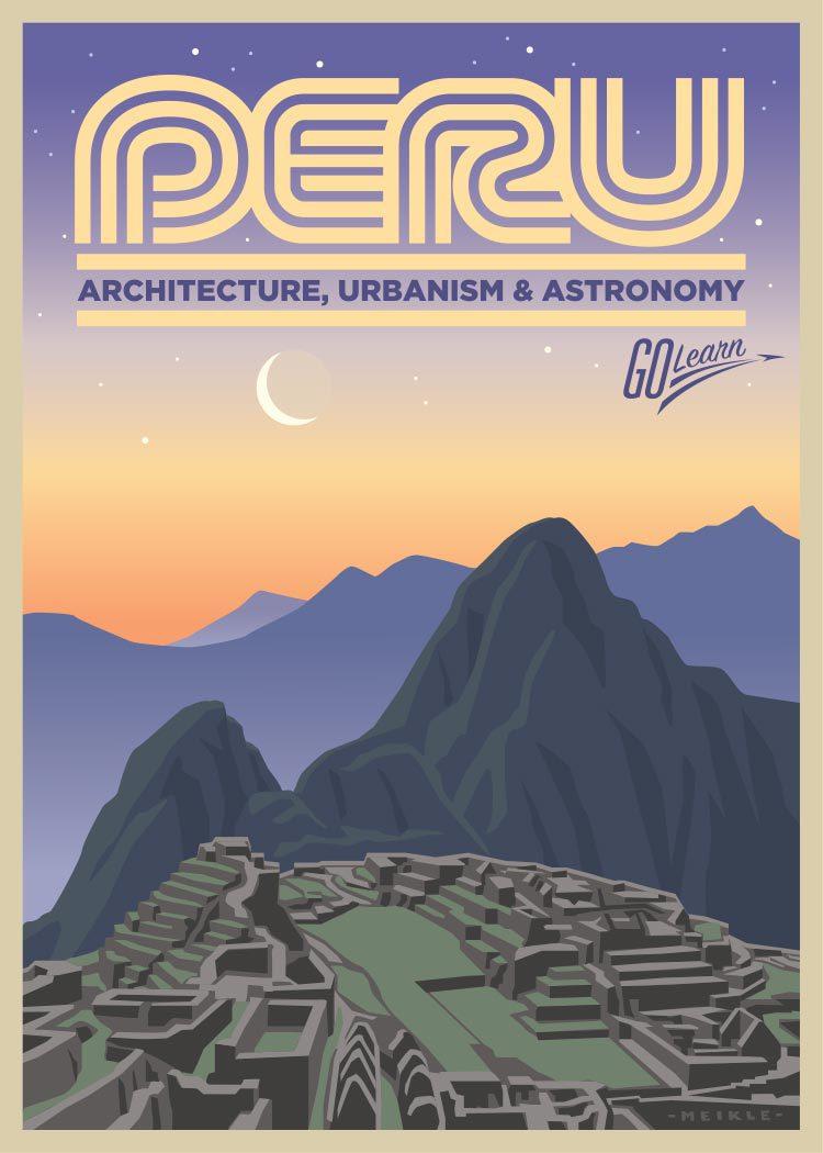 Peru Go Learn poster