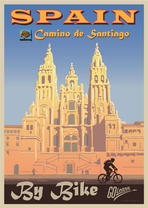 Camino de Santiago Go Learn poster