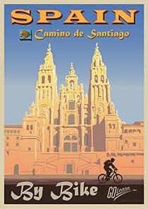 Camino de Santiago 2022 Go Learn poster